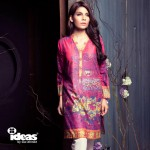 Latest fall winter dresses by bye Gul Ahmed