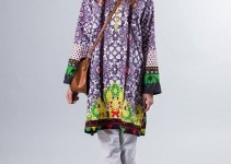 pakistani women wear Peace Collection - Work by Zari Faisal