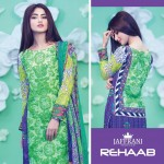 Rehaab Eid Collection 2015 Embroidery Lawn Dresses for women (1)