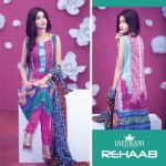 Rehaab Premium Embroidered Lawn Eid Collection