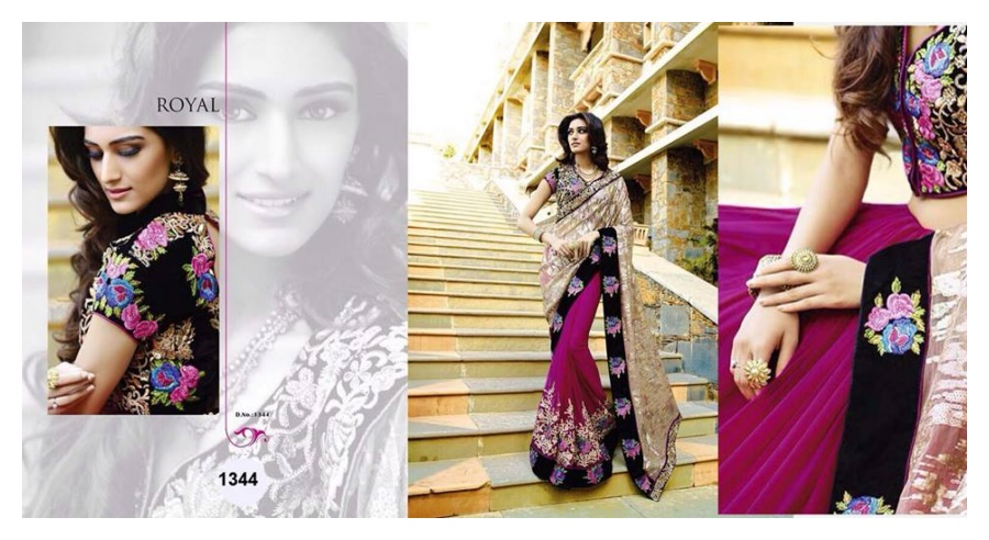 Royal Sarees Winter Fall Indian Saree fashion