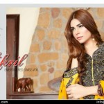 Rujhan Fabric Zikril Embroidered Swiss Voile 2015