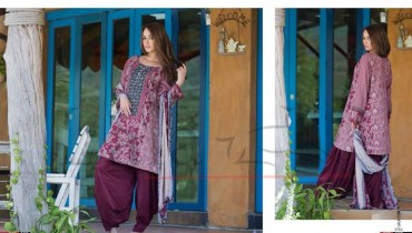 Sana & Samia Lawn for Winter