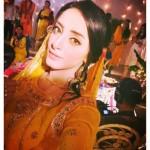 Sanam Chauhdry Mayoon Mehndi Pics