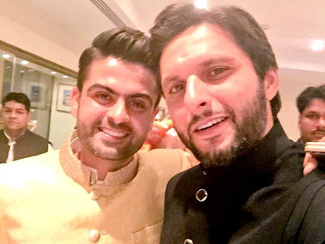 Cricketer Ahmed Shahzad And Sana Murad Wedding Photos