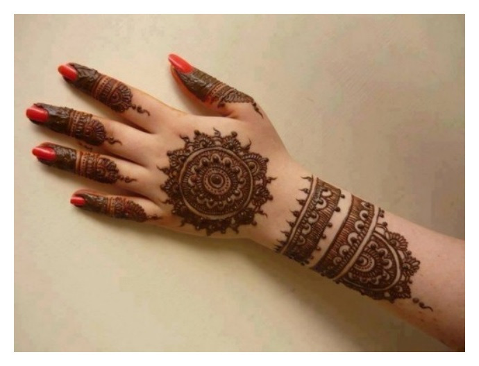 Mehndi Designs New Simple : Hand mehndi designs pics eid ul azha henna fashion