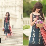 So Kamal Embroidered Chiffon Latest 2015 Collection
