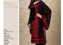 Sobia Nazir Silk & Chiffon Eid Collection 2015 for Women (2)