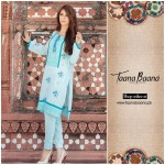 Taana Baana Eid Fall Sawlar kameez 2015 for Women (2)
