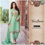 Taana Baana Latest Eid-ul-Azha Formal Dresses Collection 2015 (1)