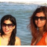 Rare Pictures Of Ayesha Omer and Maria Wasti
