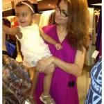 Vaneeza Ahmed with here Baby