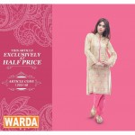 Latest Warda Eid Dresses Collection 2015 2016 New Design