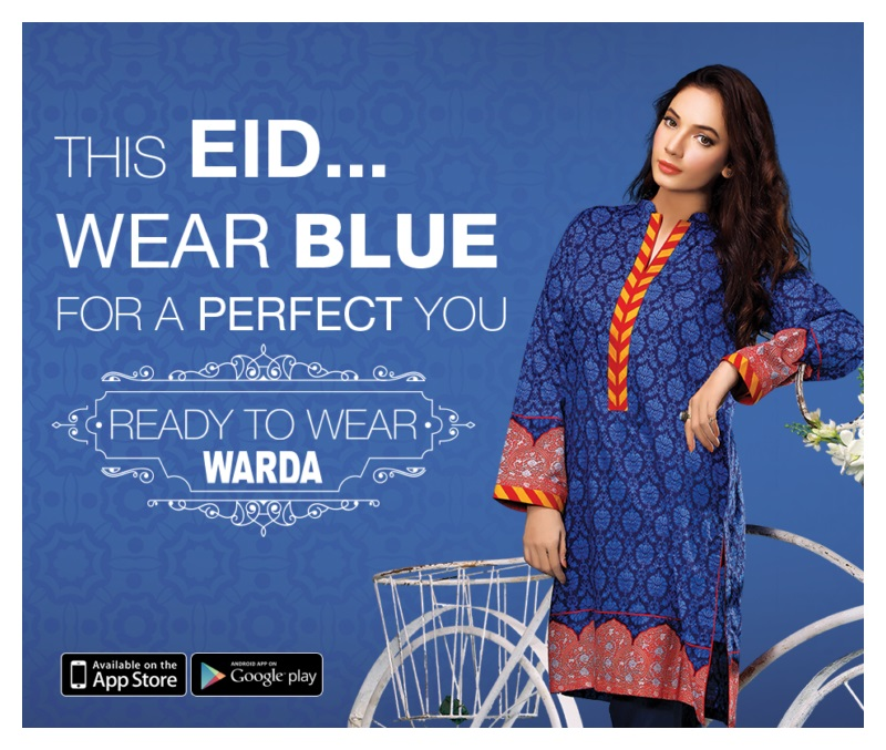 Warda Designer Eid Ul Adha Dresses Collection 2015