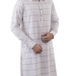 White kurta by Yellow