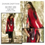 Zainab Chottani New Party wear Pret Suti with blazzing design (1)