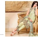 Latest Zarqash Embroidered Silk Chiffon for Summer
