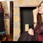 Rujhan Fabric Zikril Embroidered Swiss Voile Collection 2015-16 for women (3)
