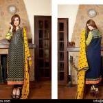 Zikril Embroidered Swiss Voil Collection 2015-16 By Rujha