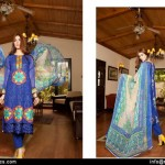 Zikril Embroidered Swiss Voile Collection 2015-16 by Rujhan