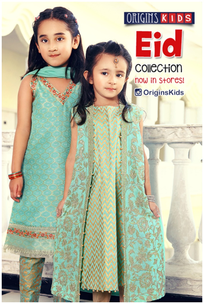 Baby Frocks eid wear by Origins Kids
