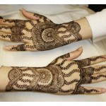 Attractive hand MEHNDI DESIGNS