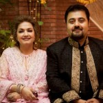 Pakistani Actor Ahmed Ali ButtAnd Fatima Khan Wedding Pictures