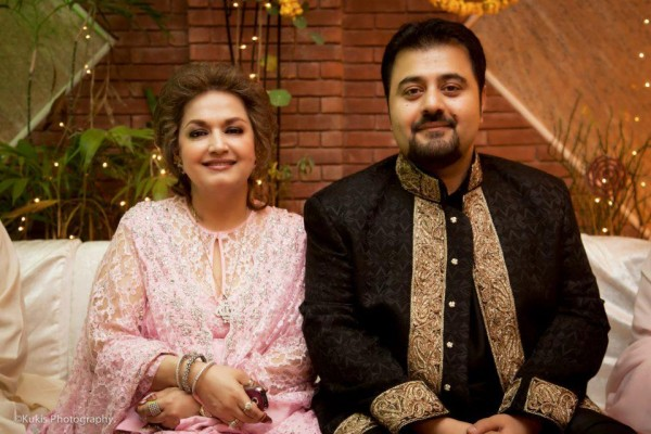 Actor Ahmad Ali Butt Wife Wedding Pictures Newfashionelle