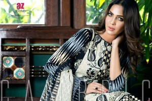 Monsoon Printed Cambric 2015 Collection By Al-Zohaib
