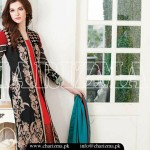 Charizma Vol 2 Fall Winter Embroidered Dresses 2015-2016