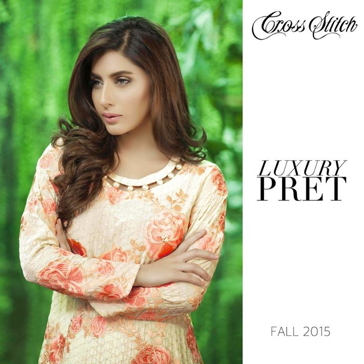 Cross Stitch Lawn Dresses 2015-16 for women'