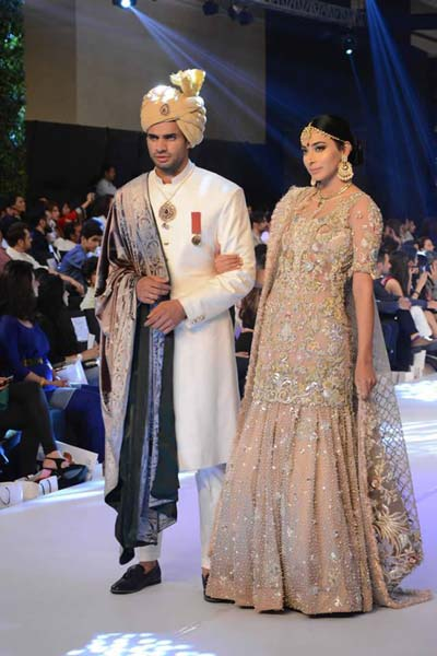 Elan Dresses at PFDC Loreal Bridal Week 2015 for women