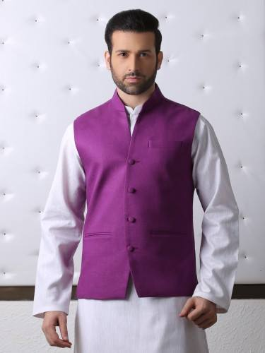 Waistcoat with Shalwar Kameez for men by Eden Robe (2)