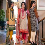 House Of Ittehad Linen Designer Fall Winter Dresses 2015 (1)
