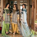 Ittehad Best Linen Fall Winter Dresses 2015 (7)