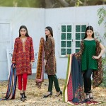 Ittehad Best Linen Fall Winter Dresses 2015 (9)