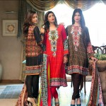 Ittehad Best Linen Fall Winter Dresses 2015 (2)