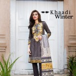 Khaadi Fall Winter Cotton Dress Collection 2015-16