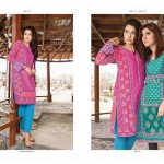 Lakhany Silk Mills Winter Kurtis 2015-16 (2)