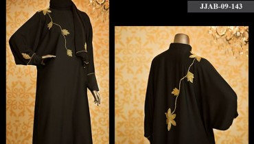 Latest J. Abaya (Burka) Design 2015-16 for Muslim Girls (10)
