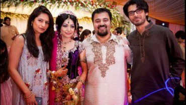 Ahmed Ali Butt Wedding Pictures 2015