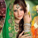 Hair-Styles-For-Mehndi-Bridal Stylishe