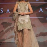 Sahar Atif at Shaan-E-Pakistan Fashion Show 2015 Bridal Wear Dresses - (1)