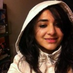Yumna Zaidi in white dress