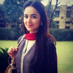 Yumna Zaidi in yellow suit
