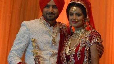 Harbhajan Singh marries Geeta Basra