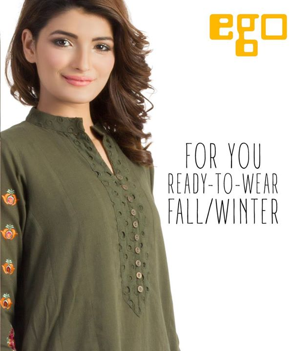 New Ego Fall Winter Dresses 2015 For Girls