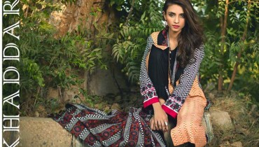 Shariq Winter Khaddar Print 2015-16