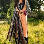 Colorful winter khaddar Dresses 2016 by Shariq textiles (8)
