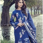 Pakistani fashion of Maria B Winter Linen Luxury suits